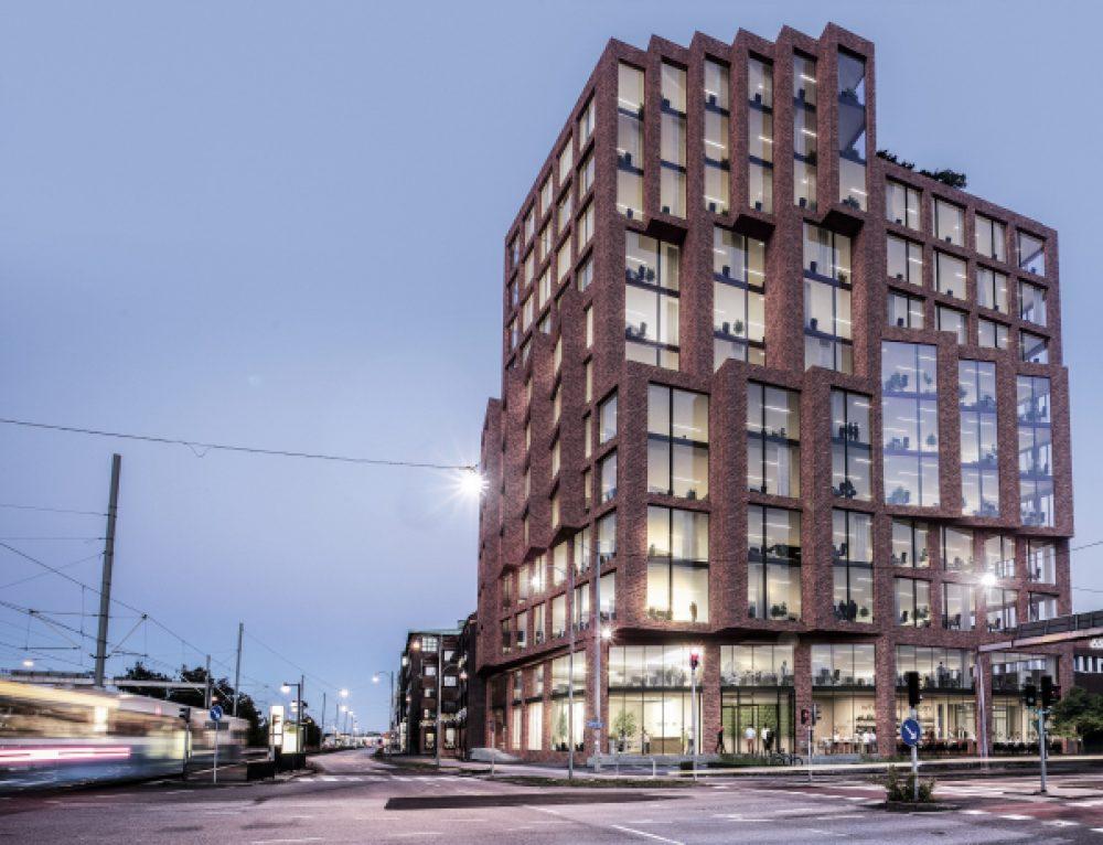 Tegelarkitekturen lyfts fram i nya fastighetsinvesteringar
