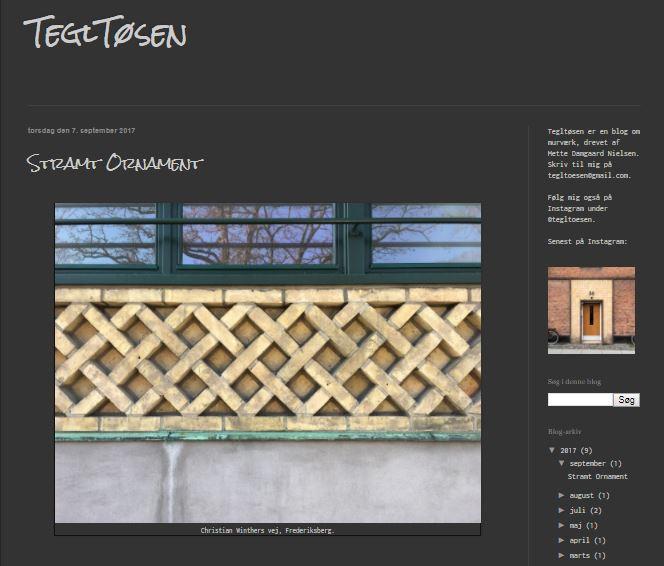 Tegltøs - Bygg i Tegel