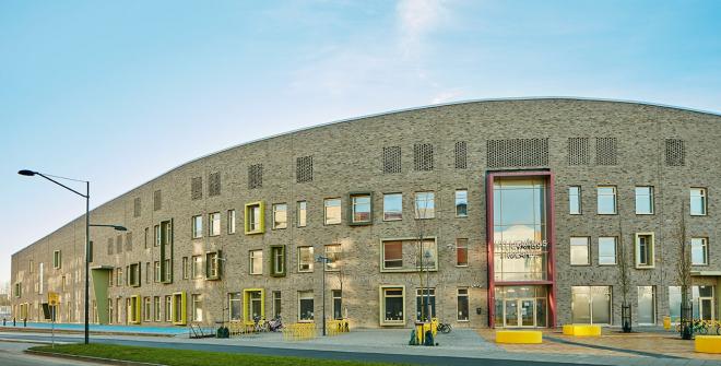 Bygg i Tegel - Hylliegaardsskolan